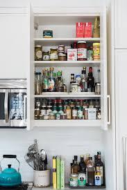 e rack inside a shelf cabinet