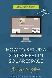 Design Your Own Style Online How To Set Up A Style Sheet In Squarespace Web Design Tips