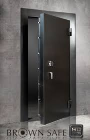 steel vault doors. The Brown Safe Vault Doors Is A Premium Protection High Security Door Offering Finest In Form And Function. These Are Large Heavily Steel