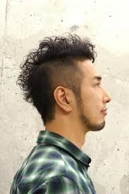 男性30代のパーマ刈上げスタイル Mens Salon Sqrit