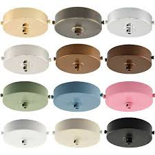 flat top ceiling rose light fitting