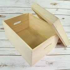 picture of large wooden chest eve box