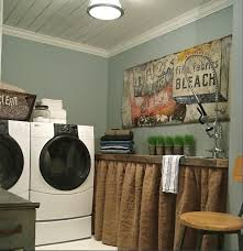 Laundry Room Accessories Decor Vintage laundry room decor with vintage furniture and paint 60