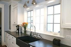 black slate countertop cost the beauty of natural materials for your kitchen design ideas white cabinets black slate