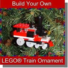 image is loading brickcrafts build your own lego train christmas holiday