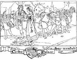 Kleurennu Optocht In De Middeleeuwen Kleurplaten