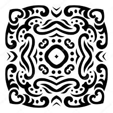 тату орнамент абстрактные векторные менди тату орнамент векторное