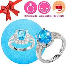 jewelry bath with surprise ring prizes inside for women one size fits all rings bubble