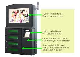 Wall Mounted Vending Machine Awesome Wall Mounted Phone Charging Station Astounding Mobile Vending