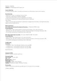 Free Business Development Executive Resume Templates At