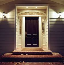 a properly refinished fiberglass entry door will enhance the overall look of your home