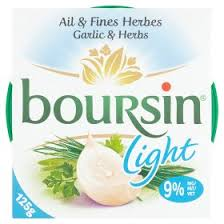 boursin light soft cheese