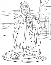 Small Picture Rapunzel coloring pages Hellokidscom