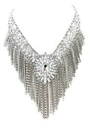 very attractive chandelier necklace avery crystal chandelier necklace haute rebellious