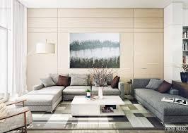 Interior Design Living Room Contemporary Remarkable Cream And Gray Contemporary Large Room Ideas Home Decor