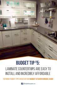 Inexpensive Kitchen Remodeling How To Remodel A Kitchen On A Budget Budget Dumpster