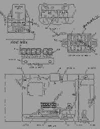 1211013 wiring group cab excavator caterpillar 313b 313b cr aggregate