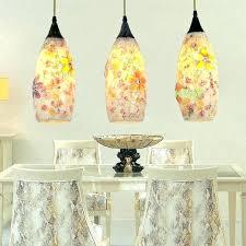 sea glass lighting sea glass lighting fixtures sea glass flower pendant light suspension hanging lamp dining sea glass lighting