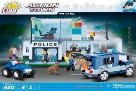 <b>Конструктор</b> пластиковый <b>COBI</b> - <b>Полицейский</b> участок (<b>Police HQ</b>)