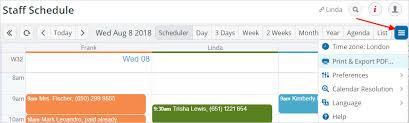 Schedule To Print Print Teamup Calendar