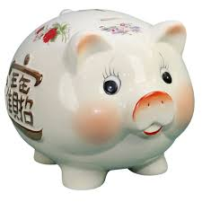 get ations 16 large pig cute pig piggy bank ceramic piggy bank opened a the savings ornaments