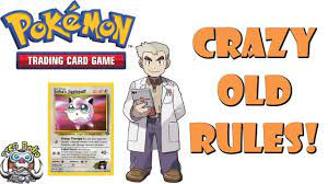 Pokemon TCG Rules Used to be Broken! - YouTube