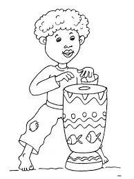 Kleurplaten Thema Afrika Voor Kleuters African Theme Preschool
