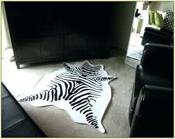 faux zebra rug medium size of area print living room rugs large fake intended for faux faux animal hide rugs