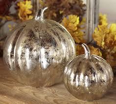 antique mercury glass. Contemporary Glass Antique Mercury Glass Pumpkins In C