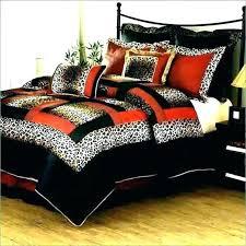 leopard print bed set animal bedding sets cheetah queen sheets pink