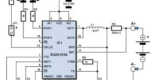 led circuit diagram for 9v images led power supply lithium battery charger circuit using bq24103 power supply