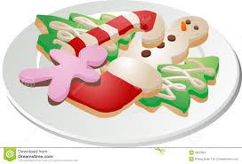 plate of christmas cookie clip art. Unique Clip Christmas Cookies Ona Plate In Plate Of Cookie Clip Art T