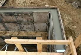 plywood concrete wall forms making concrete forms for walls how to build concrete wall forms with