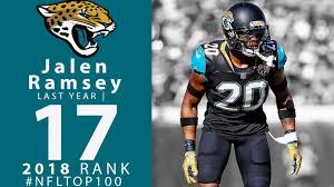cb Ramsey 100 17 Youtube Nfl Players Jaguars 2018 - Top Jalen Of