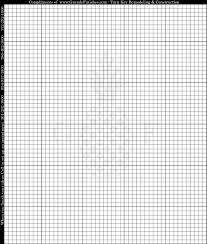 Numbered Graph Paper Template Numbered Graph Paper Template Coordinate Grid PaperGraph Paper 13