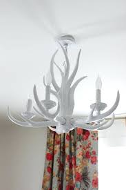 antler light fixture modern white antler chandelier antler light fittings next
