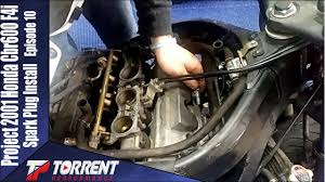 Cbr600 Spark Plug Change Project 2001 <b>Honda Cbr600 F4i</b> ...