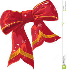 Red Heart Shaped Christmas Decorations With Ribbon And Bows #8