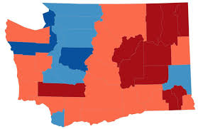 presidential elecion results this election map is a lie so we made new ones kuow news and