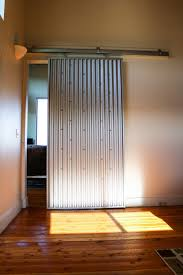 Corrugated Metal Interior Design Check Out This Interior Sliding Door Made From Corrugated Metal In