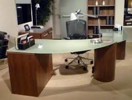contemporary office desk glass. interesting desk modern office desk 66 inch ellax with glass top throughout contemporary m