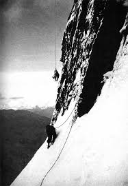 The first 10 successful ascents (all via the 1938 route). Pin By Ottilie Kuhberger On Maxim Mountaineering Climbing Ice Climbing Rock Climbing