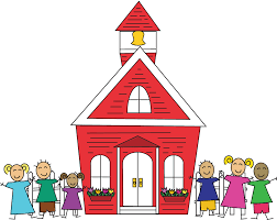 Image result for schoolhouse clipart