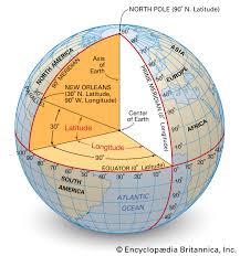 Latitude Scale Chart Latitude And Longitude Description Diagrams Britannica