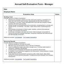 Example Of Employee Evaluation Comments Template Nursing Performance ...