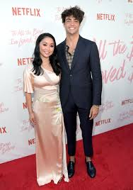 Sure, peter is still a jock, but he's while we're tempted to call peter and lara jean the cutest couple ever, that award might just have to go to noah centineo and lana condor. The Story Behind Peter Kavinsky And Lara Jean S Lock Screen Noah Centineo In To All The Boys I Ve Loved Before