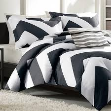 innovation inspiration black chevron comforter set com 4 piece plush reversible zig zag print teal grey queen king size home