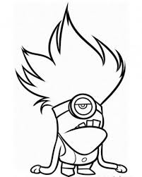 Small Picture Coloring Pages Minion Kevin Coloring Page And Printable Coloring