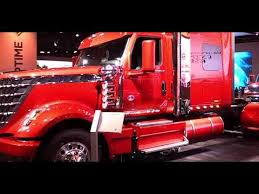 2018 International Lone Star Sleeper Truck Walkaround 2017 NACV Show Atlanta
