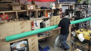 Shop Dust Collection Design Dust Collection Piping And Testing Jays Custom Creations
